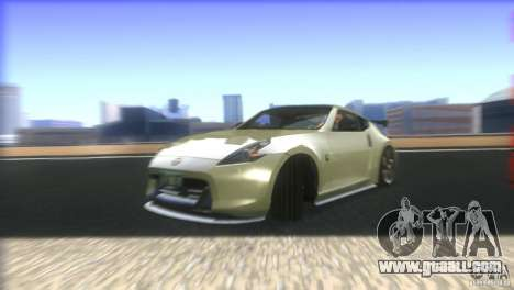 Nissan 370Z Drift 2009 V1.0 for GTA San Andreas bottom view