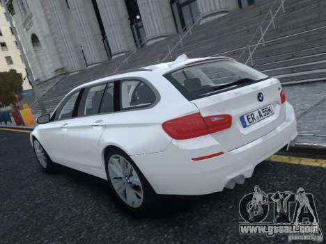 BMW M5 F11 Touring V.2.0 for GTA 4 back left view