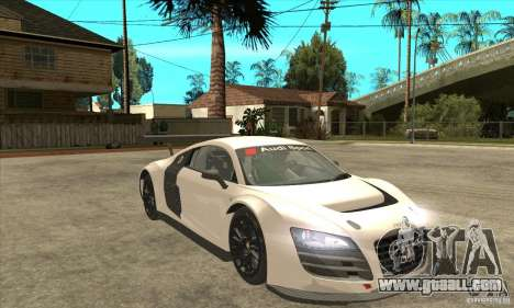 Audi R8 LMS v1 for GTA San Andreas back view