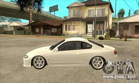 Nissan Silvia S15 Japan Drift for GTA San Andreas left view