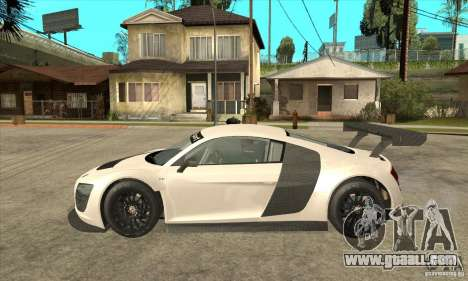 Audi R8 LMS v1 for GTA San Andreas left view