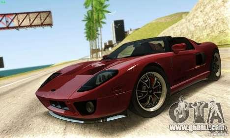 Ford GTX1 Roadster V1.0 for GTA San Andreas