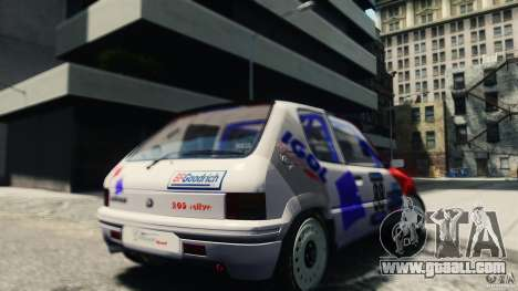 Peugeot 205 Rally for GTA 4 back left view