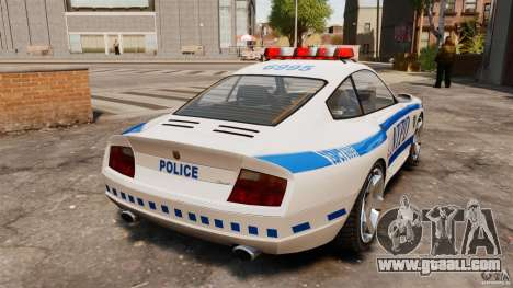 Comet Police for GTA 4 back left view