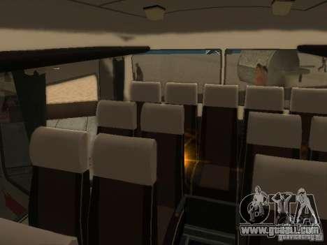 LAZ 699R 98021 for GTA San Andreas upper view