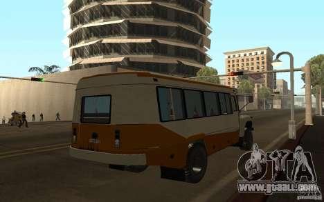 Kavz 3976 KAVZOZIL for GTA San Andreas back view