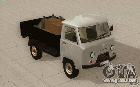 UAZ-3303 for GTA San Andreas interior
