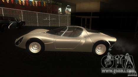 Alfa Romeo Tipo 33 Stradale for GTA San Andreas left view
