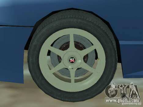 Elegy Of Convertible Tops for GTA San Andreas inner view