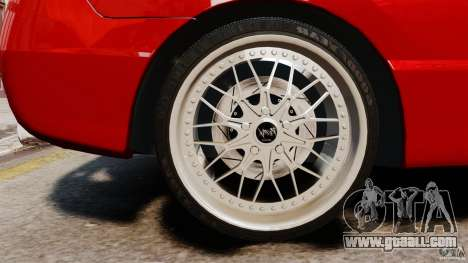 Honda Civic Si for GTA 4 back view