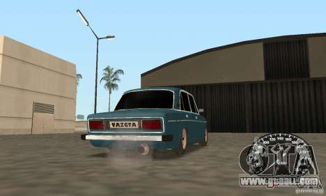 VAZ 2106 Tuning Light for GTA San Andreas back left view