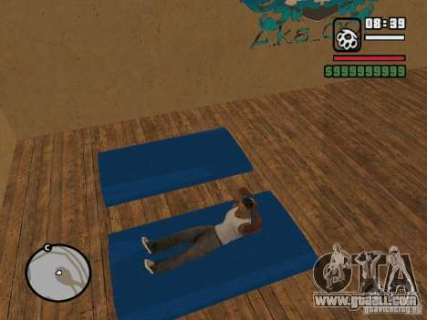 Training and Charging for GTA San Andreas