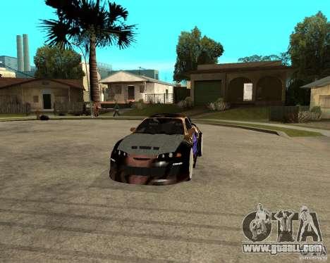 Mitsubishi Eclipse RZ 1998 for GTA San Andreas back view