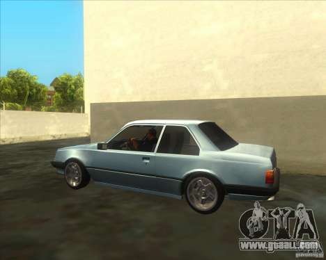 Opel Ascona C 1982 for GTA San Andreas left view