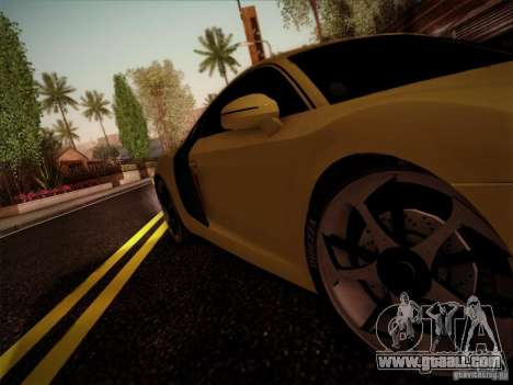 Audi R8 custom for GTA San Andreas right view