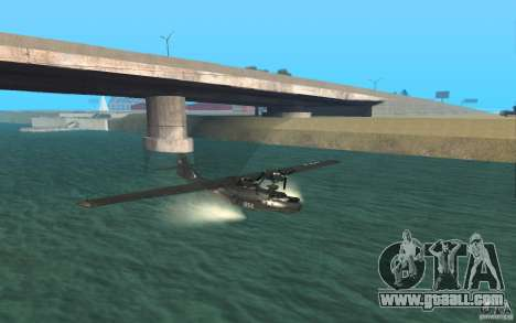 PBY Catalina for GTA San Andreas left view