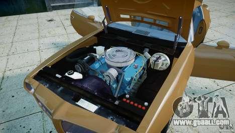 Pontiac Firebird 1970 for GTA 4 back view