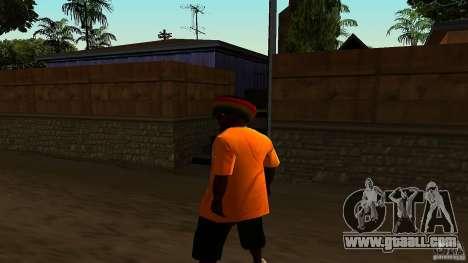 Jamaican Guy for GTA San Andreas third screenshot