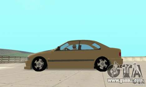 Bmw 528i for GTA San Andreas left view
