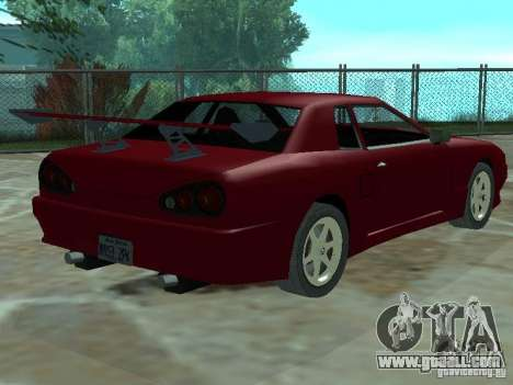 Elegy Of Convertible Tops for GTA San Andreas side view