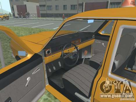 GAZ 24-01 Taxi for GTA San Andreas side view