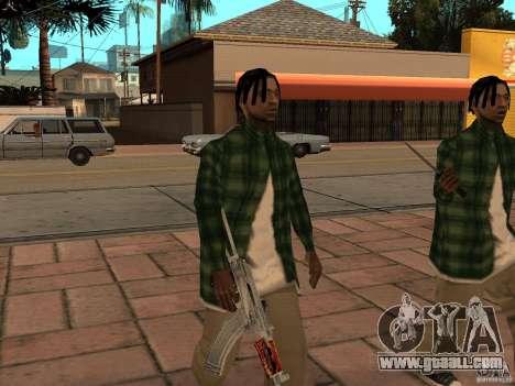 Pak domestic weapons version 3 for GTA San Andreas fifth screenshot