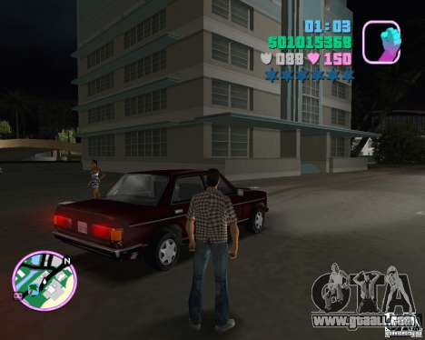 New Admiral for GTA Vice City left view