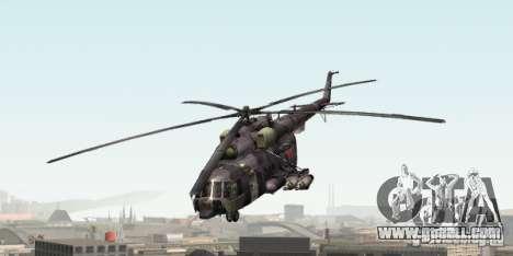 MI-8 Grey Camo for GTA San Andreas