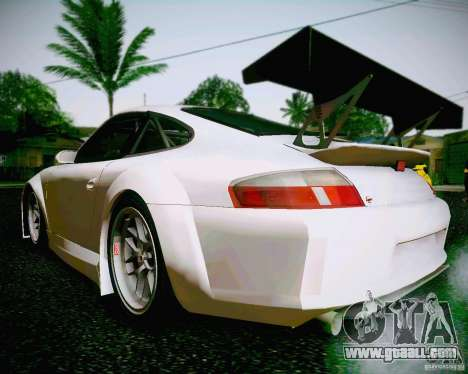 Porsche 911 GT3 for GTA San Andreas left view