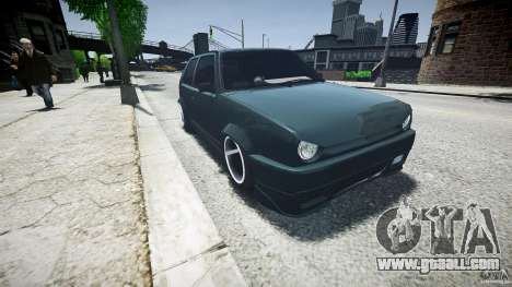 Volkswagen Golf 2 Low is a Life Style for GTA 4