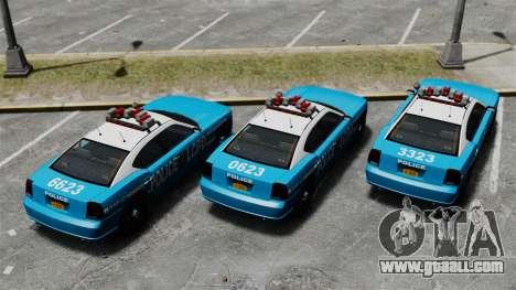 Bravado Buffalo ELS for GTA 4 back view