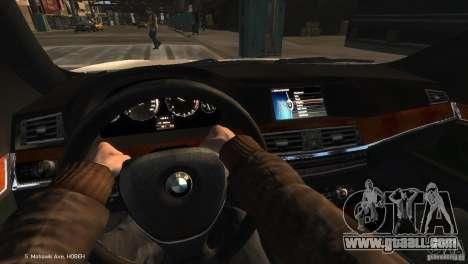 BMW 550i Azeri Police YPX for GTA 4 right view