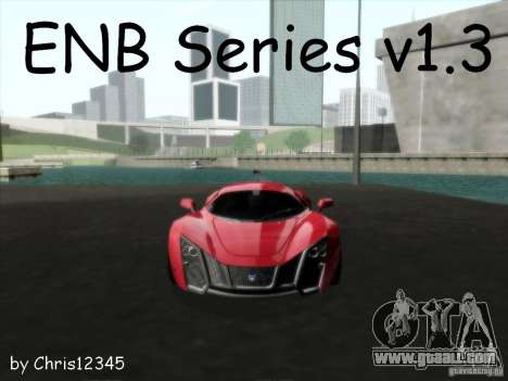 ENBSeries v1.3 for GTA San Andreas