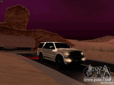 Ford Expedition 2008 for GTA San Andreas upper view