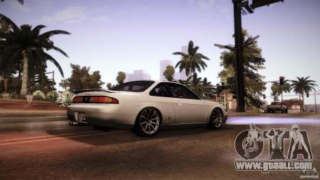 Nissan Silvia S14 Zenk for GTA San Andreas right view