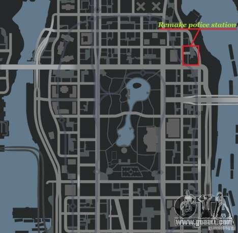 Remake police station for GTA 4 forth screenshot