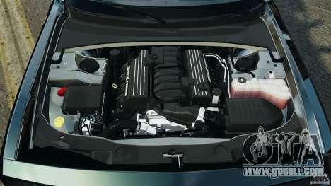 Dodge Challenger SRT8 392 2012 Police [ELS][EPM] for GTA 4 upper view