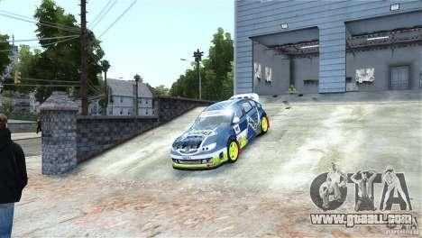Subaru Impreza WRX STI Rallycross SHOEL Vinyl for GTA 4