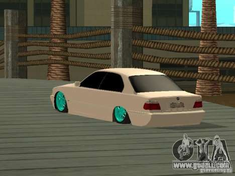 BMW 750i JDM for GTA San Andreas left view