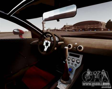 Ascari A10 2007 v2.0 for GTA 4 inner view