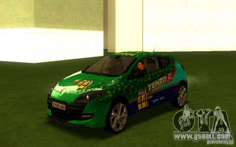 Renault Megane RS for GTA San Andreas side view