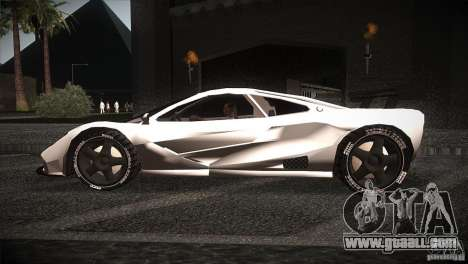 McLaren F1 LM for GTA San Andreas left view