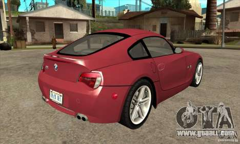 BMW Z4 - Stock for GTA San Andreas right view
