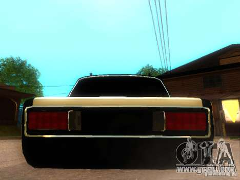 Vaz 2106 dag style for GTA San Andreas back left view
