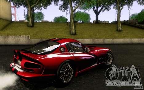 Dodge Viper GTS Coupe TT Black Revel for GTA San Andreas left view