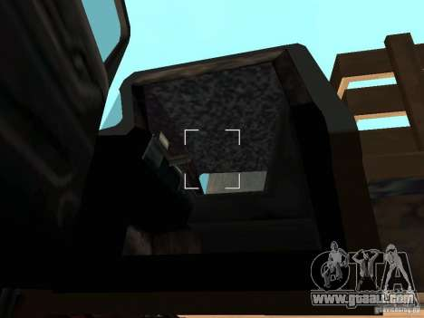 Walton Monster for GTA San Andreas inner view