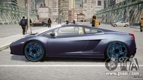 Lamborghini Gallardo Superleggera for GTA 4 bottom view