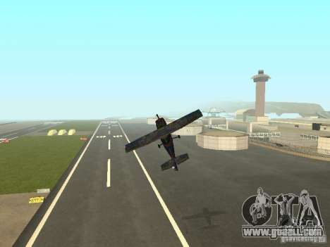 A new plane-Dodo for GTA San Andreas bottom view