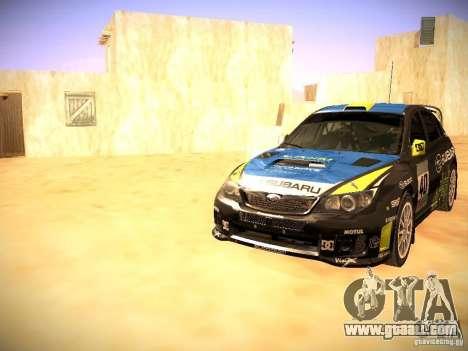 Subaru impreza Tarmac Rally for GTA San Andreas wheels