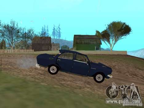 Moskvich Tattered for GTA San Andreas left view